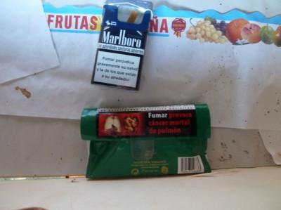 My Power Frutas y verduras          o tabaco