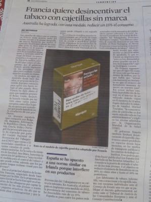La Vanguardia  26-9-2014