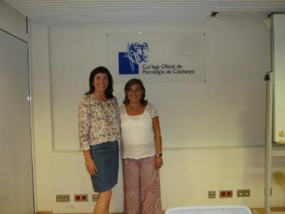 Sara Rodríguez y Teresa Martínez al COPC