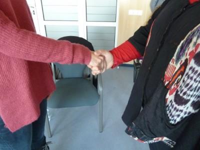 Firmar acuerdos después de una Mediación